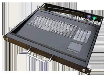 Tiroirs Clavier Touchpad Rackables 1u Pour Armoires 19